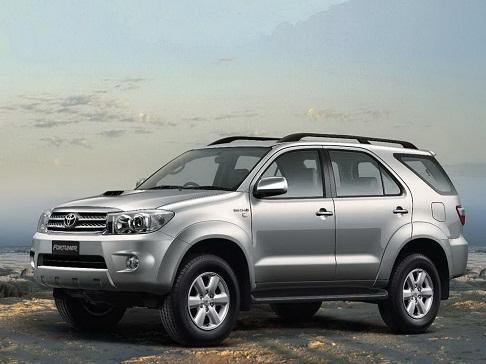 Cho thuê xe 7 chỗ theo tháng Toyota Fotuner
