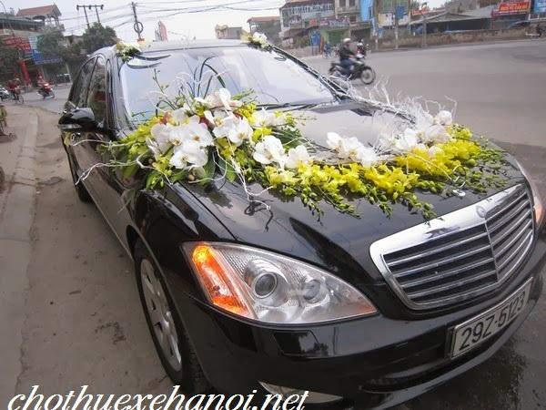 thuê xe cưới vip Mercedes s500