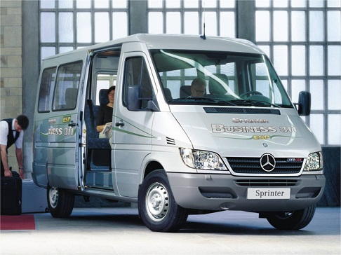 Cho thuê xe du lịch 16 chỗ Mercedes Sprinter