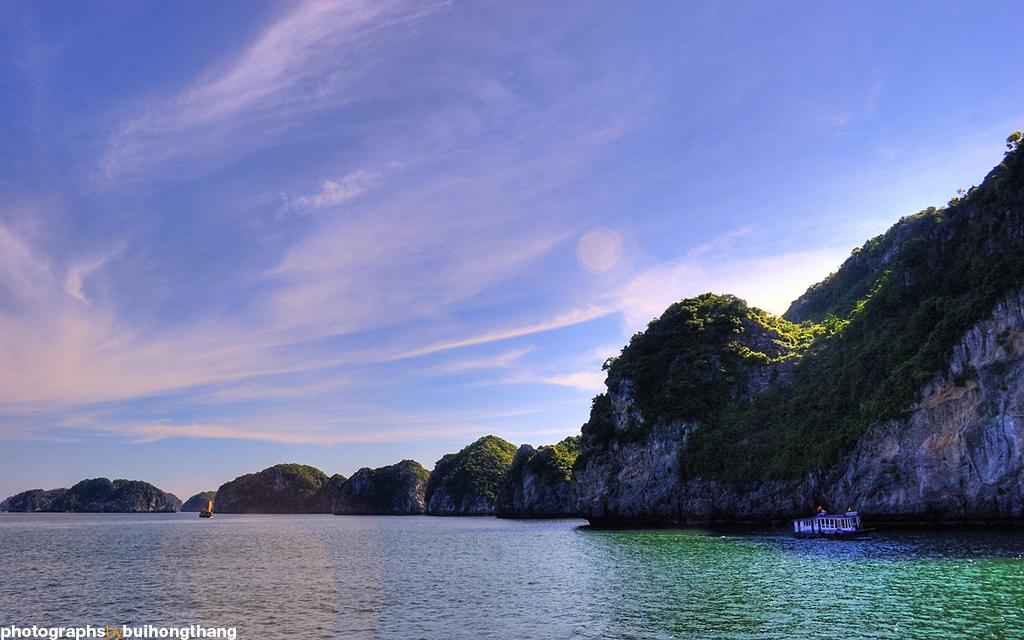 Cho thuê xe 29 chỗ tại Hà Nội du lịch vịnh Lan Hạ