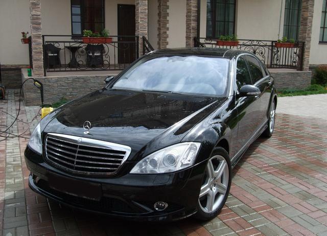 Cho thuê xe 4 chỗ VIP Mercedes S500
