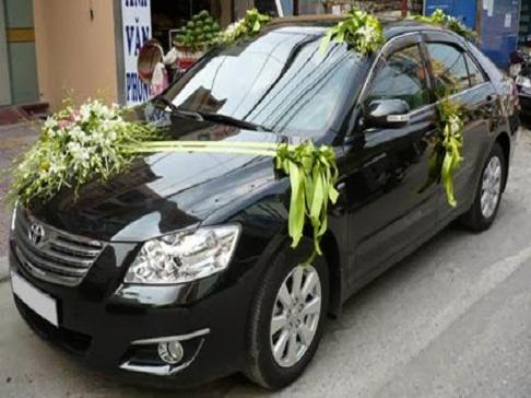Xe cưới hạng sang Toyota Camry